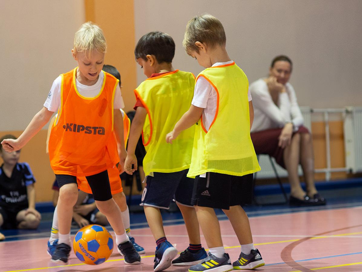 Открытый турнир по мини-футболу Маленькие панды