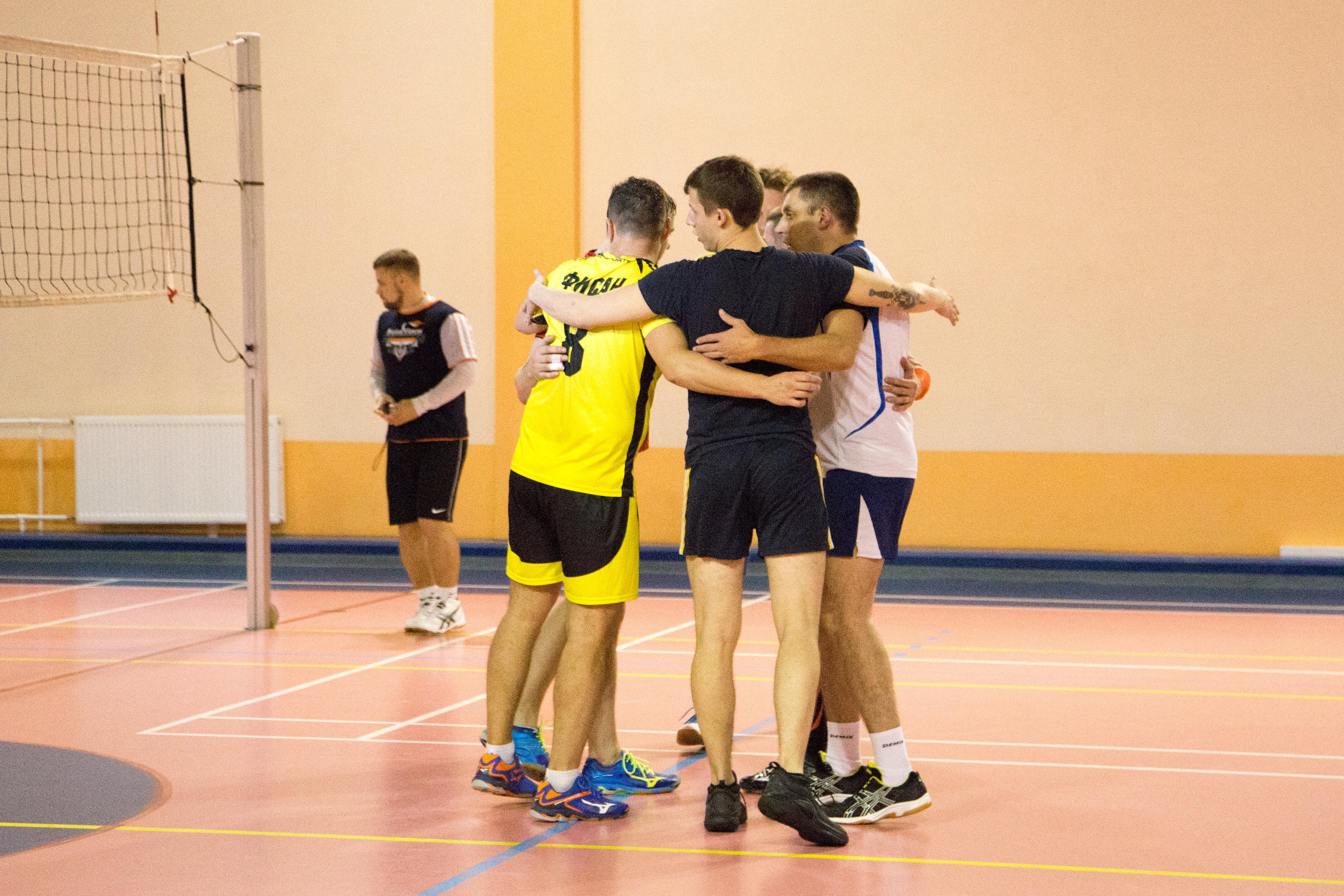 Открытый турнир по волейболу 28.10.2018